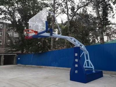 竞赛篮球架案例