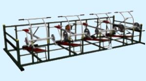 卧推力量组合训练器材